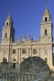西班牙,加利西亚,卢戈,大教堂 库存照片