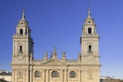 西班牙,加利西亚,卢戈,大教堂 库存图片
