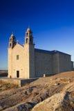西班牙,加利西亚,穆希亚, Virxe de la巴尔卡角圣所 免版税图库摄影