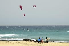 西班牙,加那利群岛,体育 免版税库存图片