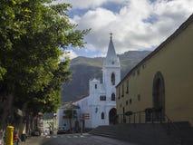 西班牙,加那利群岛,特内里费岛,洛西洛斯, 2017年12月19日:wh 免版税库存照片