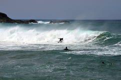 西班牙,加那利群岛,费埃特文图拉岛,体育 免版税库存图片