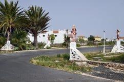 西班牙,加那利群岛,费埃特文图拉岛 库存图片