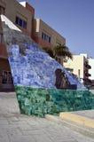 西班牙,加那利群岛,费埃特文图拉岛 免版税库存照片