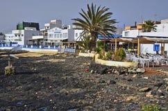 西班牙,加那利群岛,费埃特文图拉岛 免版税库存图片