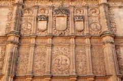 西班牙,卡斯蒂利亚y利昂,萨拉曼卡 历史中心 免版税图库摄影