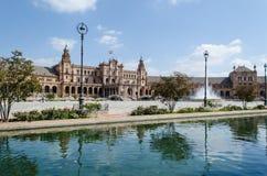 西班牙,塞维利亚的广场 免版税库存照片