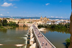 西班牙,安大路西亚,科多巴,梅斯基塔 免版税库存照片