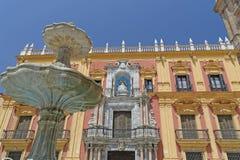 西班牙,马拉加 免版税图库摄影