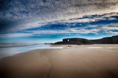 西班牙, Playa de las catedrales 图库摄影