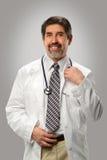 西班牙医生Smiling画象  免版税库存照片