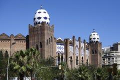 西班牙建筑工人,修建主要修造 免版税库存照片
