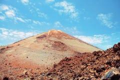 西班牙teide tenerife火山 免版税库存照片