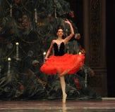 西班牙The第二公主行动第二领域糖果王国-芭蕾胡桃钳 免版税图库摄影