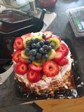 西瓜蛋糕 库存照片