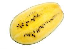 西瓜黄色 免版税库存照片