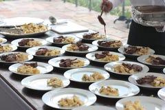 从巴西的羊羔烤肉 库存照片