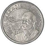50巴西真正的分硬币 免版税库存图片