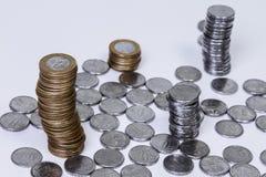 巴西真正的硬币 免版税图库摄影