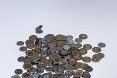 巴西真正的硬币 库存照片