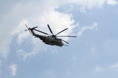 西科斯基CH-53海公马 免版税库存照片