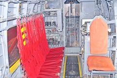 西科斯基HH-52 Seaguard内部 免版税库存照片