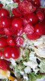 西红柿和大白菜 免版税库存照片