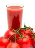 西红柿汁 免版税库存照片