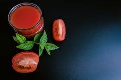 西红柿酱和成份 图库摄影