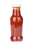 西红柿酱瓶 免版税库存图片