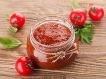 西红柿酱(堵塞) 库存图片