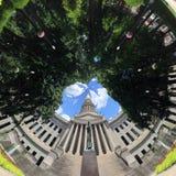 西维吉尼亚国会大厦在春天 免版税库存图片