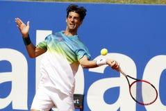巴西网球员托马斯・贝鲁奇 库存图片