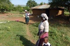 从西肯尼亚的场面 免版税库存照片