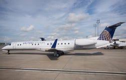 巴西航空工业公司135联航 免版税库存照片