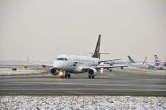 巴西航空工业公司ERJ 175 免版税库存图片