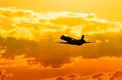 巴西航空工业公司ERJ 145 库存图片