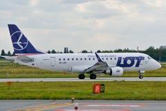 巴西航空工业公司ERJ 170 免版税库存图片
