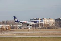 巴西航空工业公司ERJ-170-200LR飞机 库存图片