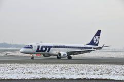 巴西航空工业公司ERJ 170 SP-LIC 库存图片