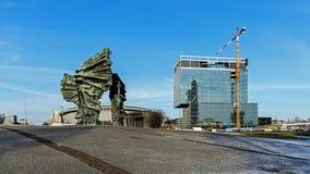 西莱亚西叛乱者`纪念碑 免版税图库摄影