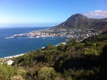 西蒙的镇,开普敦,南非看法  库存图片