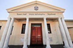 西蒙的镇-城镇厅,南非 免版税图库摄影