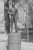 西蒙・波利瓦的纪念碑 库存照片