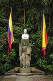 西蒙・波利瓦议院在波哥大,哥伦比亚 免版税库存图片
