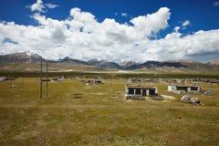 西藏乡村 免版税图库摄影