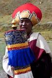 西藏修士 免版税库存图片