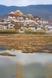 西藏修道院。 免版税图库摄影