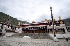 西藏修道院在拉萨,西藏 免版税库存图片