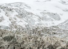 西藏冰川 图库摄影